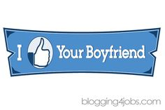 Facebook love, Facebook, I like your boyfriend, like, social media humor