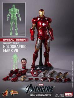 1/6 Hot Toys - MMS185 - The Avengers: Iron Man MK VII