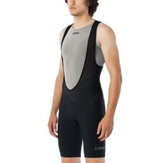 Giro's Chrono Sport Men's Bib Shorts borrow design features from their more expensive siblings to bring you high-level comfort and functionality at a price point that won't break the bank. Whether you're investing in your first pair of bibs or building on an already stellar collection, these shorts are a solid addition to any cycling wardrobe.  The main body of the Chrono Sport bib shorts is made from a blend of nylon and spandex for a contoured fit that will move with you comfortably yet…