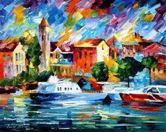 COZUMEL - PALETTE KNIFE Oil Painting On Canvas By Leonid Afremov - http://afremov.com/COZUMEL-PALETTE-KNIFE-Oil-Painting-On-Canvas-By-Leonid-Afremov-Size-16-x20.html?bid=1&partner=20921&utm_medium=/vpin&utm_campaign=v-ADD-YOUR&utm_source=s-vpin