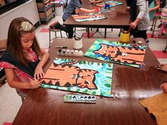 Art with Mrs. Seitz: Rousseau Tigers