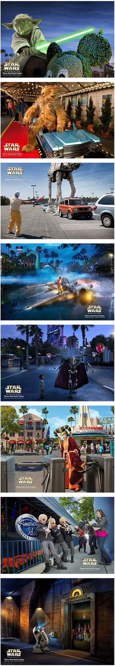 Disney Star Wars Weekends Posters