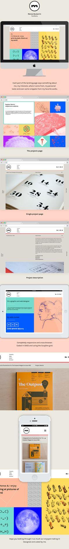 Personal Portfolio Website on Behance