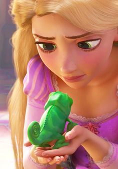 Day 22 favourite heroine. Rupunzel