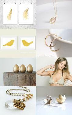 Golden years by Barbara Cardenas Olivari on Etsy--Pinned with TreasuryPin.com
