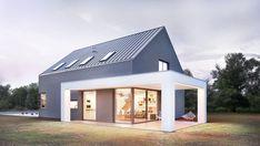 Shed Homes, Prefab Homes, Modern Exterior, Exterior Design, Modern Barn House, Modern Farmhouse Plans, Modern Backyard, Custom Built Homes, House Roof