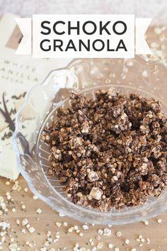 Schoko-Granola #vegan #homemade