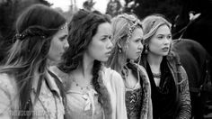 Fashion of the CW's Reign, Season One, Episode One (1.01) Kenna, Lolsa, Aylee, Greer