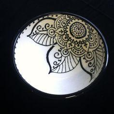 Side Mandala Bowl on Etsy, $25.00
