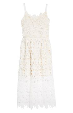 Perfect Mother's Day Gift Tween Party Dresses, Girls Fancy Dresses, Dresses For The Races, Dresses For Tweens, Little Girl Dresses, Flower Girl Dresses, Jumpsuits For Girls, Floral Lace Dress, Nordstrom Dresses