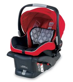 """#Britax B-Safe Child Seat - For children 4-30 lbs, 32""""or less in height, with a seated shoulder height 6.5""""-11"""". Side impact protection with tangle-free, five-point harness. From BritaxUSA.com."""