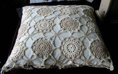 15 almofadas de crochê tradicionais ~ Arte De Fazer | Decoração e Artesanato …