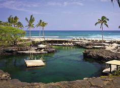 World's Best Beach Hotels: Four Seasons Resort, Hualalai, Big Island, HI Best Resorts, Best Vacations, Hotels And Resorts, Hawaii Travel, Travel Usa, Epic Pools, Hawaii Pictures, Big Island Hawaii, World Cities