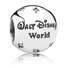 'Exclusive parks only WDW charms.  'Walt Disney World Resort'' Charm by PANDORA