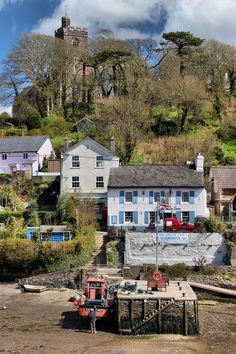 ohmybritain: Noss Mayo, Devon by slys_pictures on Flickr — FUCKITANDMOVETOBRITAIN