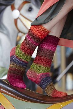 Ravelry: Lace and Rib Socks pattern by Barb Brown Knit Mittens, Knitting Socks, Hand Knitting, Knitting Patterns, Knit Socks, Lots Of Socks, Knitting Magazine, How To Purl Knit, Yarn Shop