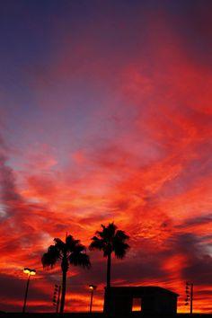 ❤️❤️❤️❤️ #red #sunset  #beautiful #nature #landscape  ❤️❤️❤️❤