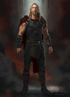 ArtStation - Roadworn Thor- Thor: Ragnarok, Andy Park