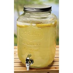 Circle Ware Yorkshire Sun Tea Beverage Dispenser 2 Gal. Glass Circleware http://www.amazon.com/dp/B006MPPC3C/ref=cm_sw_r_pi_dp_Jxy2ub0A790CF
