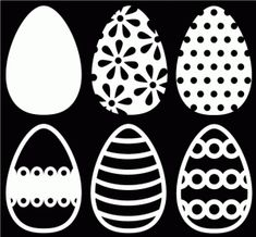 Free Easter Egg cut files