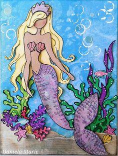 Journal page- Sea Sallie doll <3 By Daniela Alvarado.
