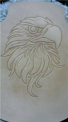 Wood Carving Patterns Dremel Woodcarving 36 Ideas For 2019 Leather Carving, Leather Art, Leather Tooling, Wood Burning Crafts, Wood Burning Art, Wood Crafts, Wood Carving Designs, Wood Carving Patterns, Chip Carving