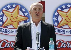 NEW YORK (AP) — Carl's Jr. and Hardee's ads starring nearly naked women have become a part of American culture, according to Andy Puzder, CEO of the chains' parent company.