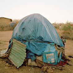 al Ático la serie Somalia Houses del fotógrafo Olaf Unverzart