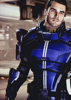 I don't care if he's a cartoon character... Kaidan Alenko is a handsome man! <3