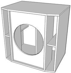 Projeto de amplificador de 500 Watts versão mono com transistores MOSFET. Subwoofer Box Design, Speaker Plans, Circuit Design, Sandro, Amp, Metal, Subwoofer Box, Box Design, Printed Circuit Board