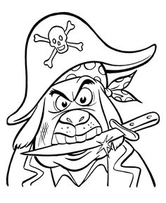 pirate coloring sheets - Yahoo Image Search Results