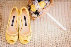 Chaussures un peu romantique... joli pour un mariage champêtre