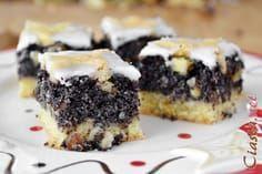 przepis na makowiec na cieście kruchym Polish Desserts, Polish Recipes, Cookie Desserts, No Bake Desserts, Polish Food, Baking Recipes, Cake Recipes, Dessert Recipes, Holiday Baking