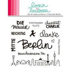 Tampons clear Lora Bailora - Berlin - FAUTE D'ORTHOGRAPHE !