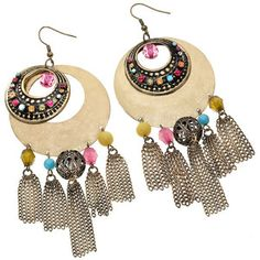#Topshop - Bead and Tassel #Boho #Earrings