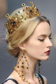 Dolce and Gabbana 2013 accessories