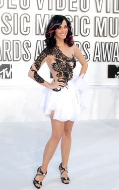 32 Pictures Of Katy Perry's Style Evolution -- I love this look on her from head to toe.