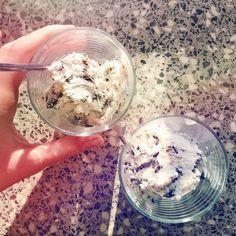 Morning chill 😍 #icecream #flatlay #mood