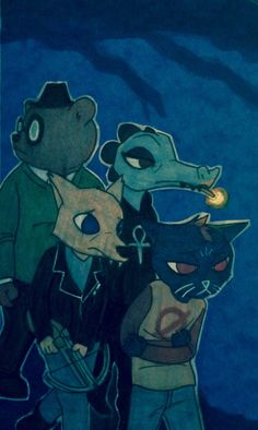 Nitw - Mae and friends, Into the Unknown together
