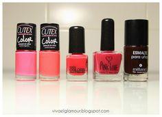 Viva el Glamour!: Haul de esmaltes!