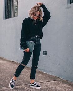50 Perfect Fall Outfits to Copy Right Now Vol. 2 / 24 Fall outfits ideas to winter fashion 2019 50 Perfect Fall Outfits to Copy Right Now Vol. 2 / 24 Fall outfits ideas to winter fashion 2019 Fashion Blogger Style, Fashion Mode, Look Fashion, Winter Fashion, Fashion Trends, Fashion 2017, Womens Fashion, Latest Fashion, Fashion Clothes