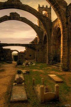 Ruinas de Santa Mariña de Dozo, Cambados (Galicia)