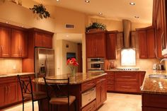 Here Are Some Odd Kitchen Islands That Are Rounded. Why?: Rounded End Kitchen Island
