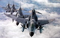 ..._F-4E Terminators with AGM-142 Popeye air-to-surface missiles