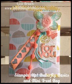 Love the Mini Treat Bag Thinlits from Stampin' Up!