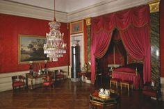 Das Schlafzimmer von Königin Charlotte Mathilde im Residenzschloss Ludwigsburg