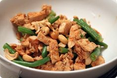 Healthier Cashew Chicken