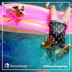 Why shouldn't the whole family come on vacation? #wholevacation