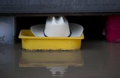 Poignant symbolic photo of the Calgary Flood Calgary, Southern, Canada, North America, Crime, June, Homes, History, Houses