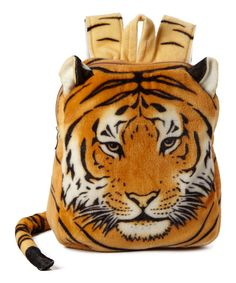 Look at this Hollywood Mirror Tiger Tail Backpack on #zulily today!